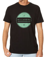 "BRAND NEW + TAG BILLABONG MENS (XL) ""ALLUSION"" SURF T-SHIRT TEE CORE FIT BLACK"