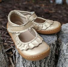 Livie \u0026 Luca Mary Jane Gray Baby Shoes