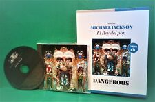 Michael Jackson '91 Dangerous CD  + BOOK For COLLECTORS Spanish NEW SEALED