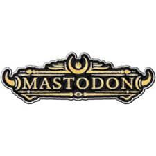 Mastodon Official Metal Enamel Pin Badge Rock Album Logo Band