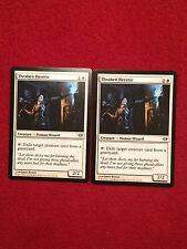 MTG X2 Thraben Heretic Dark Ascension Jace Vraska Magic the Gathering White Card