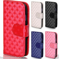 3D Pattern Leather Wallet Cover Magnetic Case for Samsung Galaxy S3 Mini i8190
