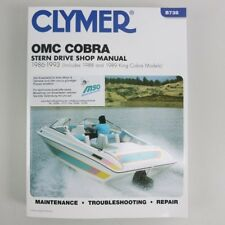Clymer OMC Cobra Stern Drive Manual 1986-1993 + King Co B738 09