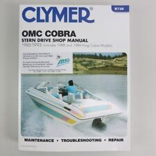 Clymer omc cobra estrella Drive manual 1986-1993 + King co b738 09