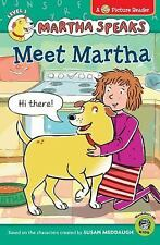 MARTHA SPEAKS Meet Martha (Brand New Paperback Leveled Reader) Susan Meddaugh
