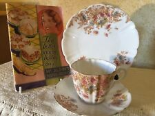 ANTIQUE VINTAGE TRIO CUP SAUCER PLATE CSP HIGH TEA Very Old & Pretty