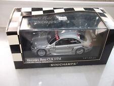Minichamps Mercedes Benz silber CLK DTM 2002 Testcar Fahrer Alesi/Schneider  OVP