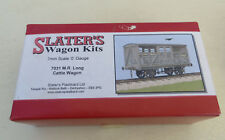 Built O Gauge 7mm Slaters 7031 MR / LMS Large Cattle Wagon - Boxed