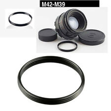 M39-M42 Metal Step Up/Down Ring Adapter for Leica Zenit Screw Lens Mount UK