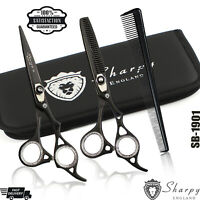 Professional Barber Hairdressing Scissors Hair Cutting Thinning Shears Set 6""