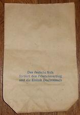3 stk. papiertüte einkaufstüte tüte original 1950er 1960er jahre ddr konsum ho