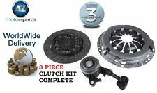 FOR NISSAN MICRA + NOTE 1.2 2010->NEW 3 PIECE CLUTCH KIT COMPLETE WITH SLAVE CYL