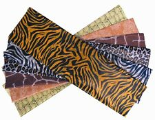 ANIMAL PRINT/SAFARI TISSUE PAPER - 12 SHEETS, 6 DESIGNS