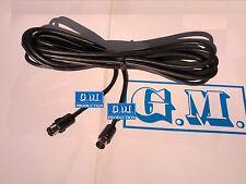 Câble mt 4,5 pour CHARGEUR CD e car radio même marque Alpine Ai-net -Jvc- Sony