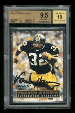 NFL • 1993 Pinnacle Franco Harris NNO AU #118 of 3000 • BGS 9.5 Gem/Mint (POP=2)