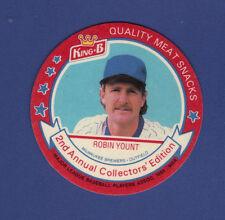 ROBIN YOUNT 1989 KING B Beef Jerky DISC #13 Milwaukee Brewers TOUGH!