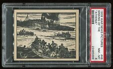 1939 War News Pictures #048 Sinking Of The Athenia PSA 8 NM-MT Cert #22485688