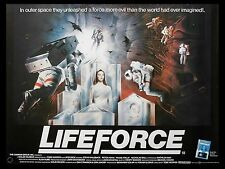 "Lifeforce 16"" x 12"" Reproduction Movie Poster Photograph"