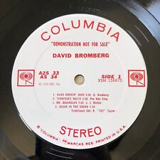DAVID BROMBERG / KENNY LOGGINS BAND With JIM MESSINA 1972 Promo Only LIVE LP Set