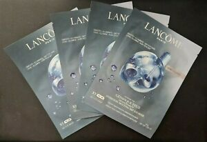 4 x LANCOME ADVANCED GÉNIFIQUE YEUX LIGHT PEARL 360 EYE MASK 10g each - NEW