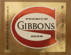 OLD USA BEER LABEL, LION BREWERY WILKES BARRE PENNSYLVANIA, GIBBONS 7 Oz 2
