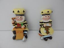 Hershey's Chocolate World Elf Collectible Set/2 Christmas Elf Magnets 2