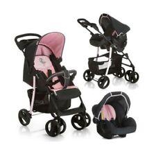 Poussettes et systèmes combinés de promenade noirs hauck pour bébé dès la naissance
