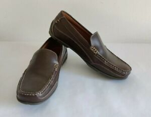 Tommy Hilfiger Dathan Men's Casual Loafer Driving Moccasin Brown Size 10.5