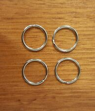 4 x Maintenance Service Tag rings Hydrant, Hose Reel, Fire Extinguisher,  AS1851