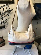 The Sak leather purse Patriotic Red, White & Blue leather hobo
