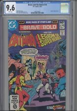 Brave and the Bold #179 CGC 9.6 1981 Legion of Super Heroes: New Frame