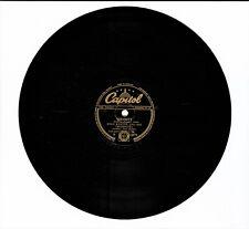 "STAN KENTON Curiosity / Interlude 78rpm 10"" Shellac Single Capitol CL 13171"