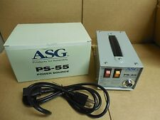 NEW ASG DC POWER SUPPLY PS-55 110/230V VOLT 78VA 20/30Vdc 2.5A A AMP PS55