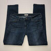 "Bullhead Black Junior's Skinny Denim Blue Jeans Size 13 Inseam 30"" Medium Wash"