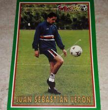 FIGURINA CALCIO PANINI SUPERCALCIO 1996/97  SAMPDORIA VERON 1997