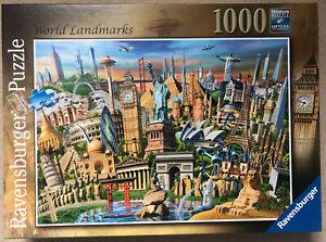 Ravensburger World Landmarks 1000 Piece Jigsaw Puzzle (197989)