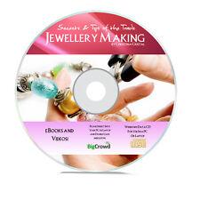 Jewellery Making e-Book & Videos - Make World Class Jewellery Home Business DVD
