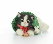 Calico Kittens Figurine You Hold The Strings To My Heart Enesco #274895 No Box