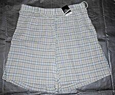 BNWT BM Green Check Casual Shorts size Medium