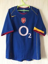 ARSENAL LONDON 2004 2005 NIKE AWAY FOOTBALL SOCCER SHIRT JERSEY era HENRY