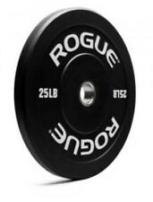 *NEW IN HAND* (2) 25 LB ROGUE ECHO Olympic Bumper Plates - 50LB Total *FREE SHIP