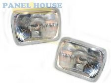 Headlights PAIR 7x5 With H4 Bulb fits Holden Rodeo TF Ute 1996-2002 Brand New