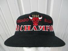 VINTAGE HEADMASTER CHICAGO BULLS 1996 NBA CHAMPIONS SNAPBACK CAP HAT NWOT DS