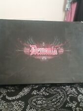 demonia new rock metal chunky boots size 4
