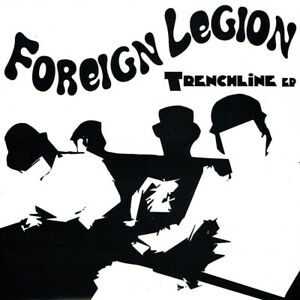 "FOREIGN LEGION - TRENCHLINE 7"" EP limited clear red vinyl Punkrock Punk Skinhead"