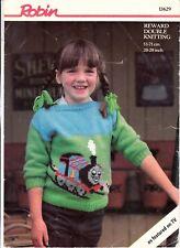 Knitting Pattern -  Thomas The Tank  a Robin Pattern