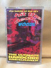Hit The Decks Volume Two 1992 Cassette Tape Breakbeat Hardcore Techno Euro House