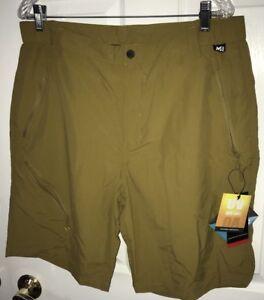 MILLET Highland Shorts Hiking Size 38 Tobacco Color MIV6887 NWT UPF 40+