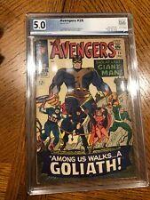 Avengers #28 PgX 5.0 -- 1966 -- Giant Man to 1st Goliath. Collector. #501315846