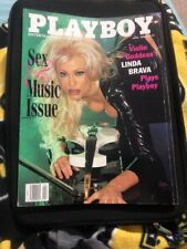 Playboy (April 1998) Vol 45 Number 4 Cover Girl: Linda Brava